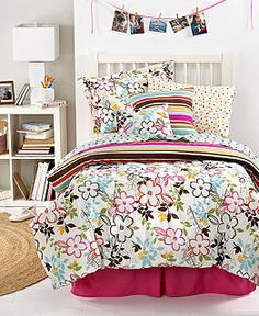Abigail 10 Piece Comforter Sets - Teen Bedding - Bed & Bath - Macy's