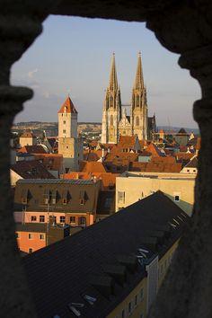 "breathtakingdestinations: ""Regensburg Cathedral - Regensburg - Bavaria - Germany (von MoMaBi) """