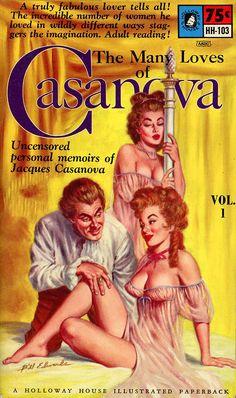 The Many Loves of Casanova Volume1