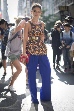 Street Style: New York Fashion Week Spring/Summer 2014.