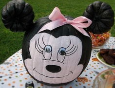 painted pumpkin! really want to do this with the girls this year!