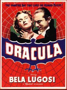 """Dicas de Filmes pela Scheila: Filme: """"Drácula (1931)"""""""