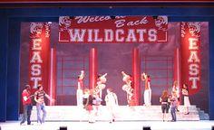 high school musical set design | High School Musical (Disney's) | Music Theatre Wichita Broadway ...