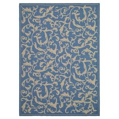 Found it at Wayfair - Welby Persian Blue Area Rug