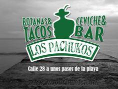 Un día de lluvia en playa del carmen no hay pretexto para visitar Los Pachukos playa del carmen, restaurante bar, calle 28 a unos pasos de la playa