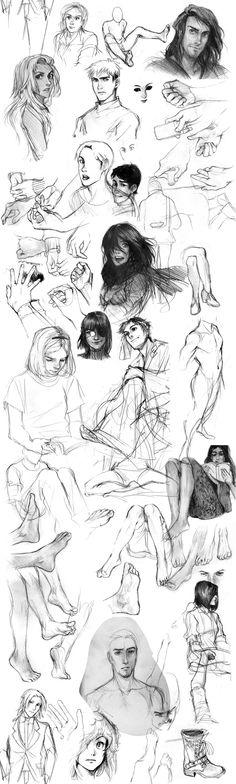 long time no sketchdumps by Razuri-chan.deviantart.com on @deviantART