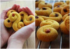 Glutenfrie/sukkerfrie Lussekatter...