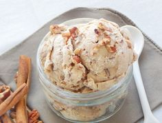 Body Talk {Cinnamon Pecan Cashew Ice Cream (No Ice Cream Maker Needed!)} - Be Whole. Be You.