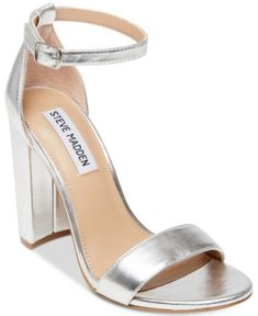 5aee57039aa Steve Madden Carrson Two-Piece Sandals - Pink 5.5M. Silver Formal ShoesSilver  Heels ...