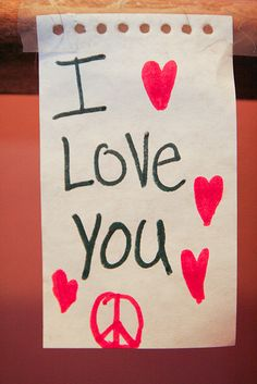 quotes love I Love You! Inspirational Quotes...