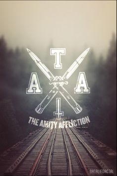 mine Typography edit logo ahren stringer the amity affliction joel ...