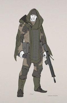 Ranger , Adrian Wilkins on ArtStation at https://www.artstation.com/artwork/ranger-3dd53b85-56a1-44f8-8e72-c56e5c645d4d