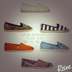 Upon Request ! +962 798 070 931 +962 6 585 6272   #Reine #BeReine #LoveReine #LoveFashion #InstaReine #MyReine #PlusSize #Toms #Shoes #BeAmman #Amman #Jordan #LoveJordan #GolocalJO #InstaToms #Fashionista #ReineWorld #ReineSpirit #FashionAddict #Diva #OOTD