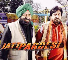 Surinder Shinda and Bob Khehra in a movie scene in up coming Punjabi movie movie #JattPardesi releasing soon.