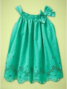 aww. if my girl looks anything like me, she will look awesome in this color dress!
