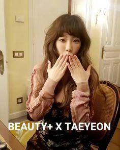 [Video] Taeyeon - 'Beauty+' Magazine, 2017 February Issue