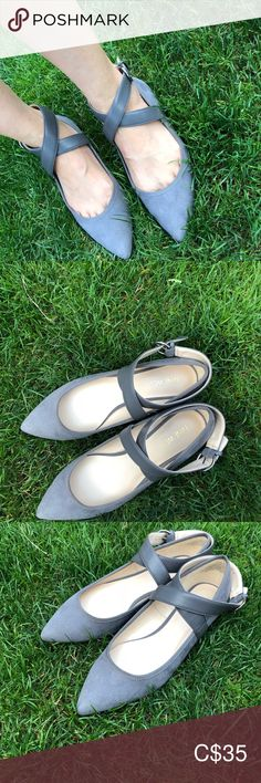 Nine West size ballerina Only worn only, adjustable straps, flats, very comfortable for walking Nine West Shoes Flats & Loafers Loafer Flats, Loafers, Nine West Shoes, Ballerina, Walking, Best Deals, Closet, Things To Sell, Style