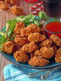 Istenien ropogós és őrülten finom. Ízletes, omlós, csábító csirkefalatok, amelyért még étterembe sem kell mennünk, hisz...