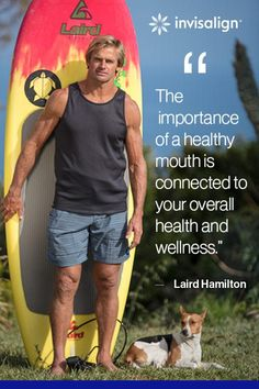 Gabby Reece And Laird Hamilton Oral Health, Health And Wellness, Professional Volleyball Players, Future Watch, Invisible Braces, Clear Aligners, Professional Surfers, Love Your Smile, Orthodontics