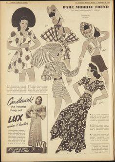 28 Sep 1940 - The Australian Women's Weekly 1940s Fashion, Vintage Fashion, Vintage Style, 1940s Style, Vintage Ads, Vintage Inspired, 40s Outfits, Vintage Outfits, Fashion Illustration Vintage