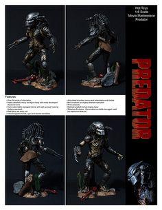 Hot Toys Movie Masterpiece Predator by ETDS1, via Flickr