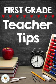 First Grade Teacher Tips - and #3 is so helpful during a whole year (plus, you can use it at home too!)