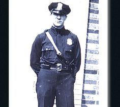 Suburban U.S. police officer circa 1940s. The coatless uniform reflects the styling of U.S. military uniforms in World War II.  Of Authorized Pattern - Article - POLICE Magazine