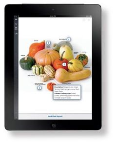 An App We're Using Now ( From the Culinary Institute of America) --While we love cookbooks, there's no denying the practicality of cooking from a tablet. There are plenty of apps for that, but The Professional Chef app from The Culinary Institute of America ($49.99, Inkling) is one of the best we've seen. It's the CIA's basic textbook brought to digital life.