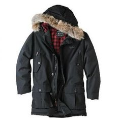 Woolrich Outlet Arctic Parka per Uomo Nero