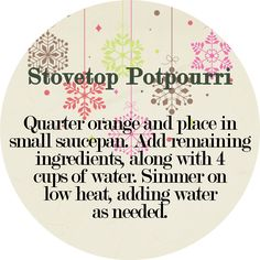 DIY Stovetop Potpourri Gift with Printable Tag - The Simply Crafted Life Christmas Paper, Christmas Gifts, Christmas Ideas, Christmas Decorations, Easy Gifts, Homemade Gifts, Stove Top Potpourri, Potpourri Recipes, Neighbor Gifts