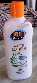 mijn persoonlijke ervaringen: Ocean potion aloe lotion