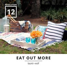 Switch up the scene and plan a picnic out back. #31Resolutions #GetYourDesignOn