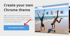 How to Create Google Chrome Themes Online for Free Read more here: http://www.techmero.com/2013/05/create-chrome-themes-online/