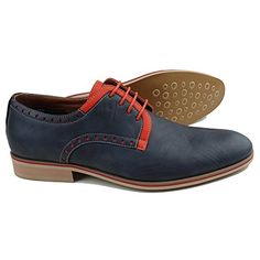 Ferro Aldo MFA-19393LE Men's Navy Blue Orange Lace Up Round Toe Oxford Dress Shoes (10.5) Ferro Aldo http://www.amazon.com/dp/B0128DPLNW/ref=cm_sw_r_pi_dp_liX7vb133NAXF