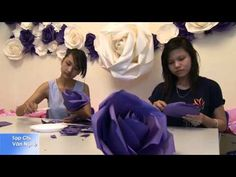 Crepe Paper Rose Sped Up - YouTube