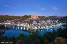 Beautiful town of Novigrad in Zadar region.