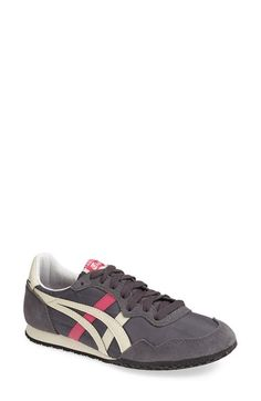 Onitsuka Tiger™ 'Serrano' Sneaker (Women) available at Winter Fashion Outfits, Fashion Shoes, Tiger Shoes, Loafer Flats, Loafers, Onitsuka Tiger, Shoe Show, Types Of Shoes, Me Too Shoes