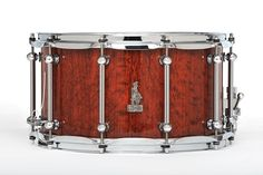 14 x 8 BRADY Jarrah Block snare drum (Natural gloss finish).