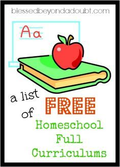 List of Free Homeschool Curriculum that will Excite your Child A list of all the FREE Full Homeschool curriculums available. Is your favorite on the list?A list of all the FREE Full Homeschool curriculums available. Is your favorite on the list? Free Homeschool Curriculum, Homeschooling Resources, Learning Activities, Easy Peasy Homeschool, Catholic Homeschooling, Homeschool Supplies, Kindergarten Curriculum, Learning Resources, Toddler Activities