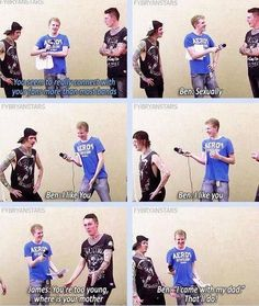 Love this interview XD