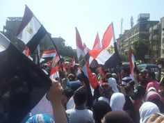 Walkin to tahrir sq from Maadi !