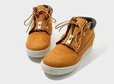 mastermind JAPAN x Timberland Mid Top Sneaker  http://www.facebook.com/DressShoesandSneaker  http://dressshoesandsneakers.tumblr.com/
