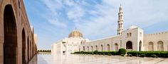 Sultan Qaboos Grand Mosque is a great place to see on both runs and walks. Offering visitors a glimpse of local religion and tradition, Friday is especially enchanting as thousands flock for afternoon prayer.