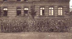 Foto I.Weltkrieg Soldaten mit Stahlhelm und Ausrüstung,Sturmtruppen