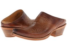Lucchese M4878 Western Mule Whiskey - Zappos.com Free Shipping BOTH Ways