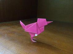 Origami Easy Bird Wren – How to make easy bird wren – Origami 2020 Origami Owl Disney, Origami Owl Charms, Origami Cat, Origami Love, Origami Owl Jewelry, Useful Origami, Origami Stars, Origami Flowers, Origami Paper