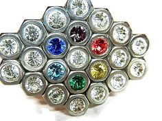Handmade Belt Buckle made from Hex nuts by gr8byz by gr8byz, $35.00