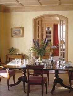Mark Gillette Interior Design: Hunting Lodge