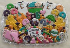 Claire's Baby Shower Platter | Flickr - Photo Sharing!