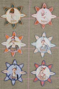 Deauville Thread Cards - 1930s Parisian Fashion